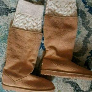 Women's Coach boots